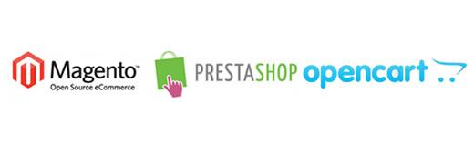 Magento vs Prestashop vs Opencart [Infografía]