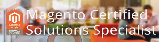 Certificación Magento Solution Specialist conseguida