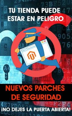 parches seguridad Magento